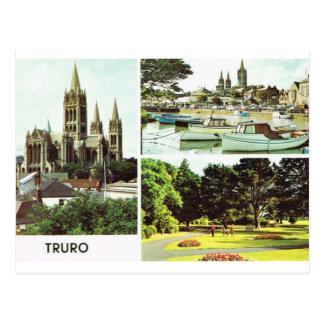 Cartão Postal Truro, Cornualha, Inglaterra