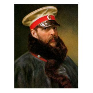 Cartão Postal Tsar Alexander do russo II
