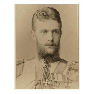 Cartão Postal Tsar - DUQUE GRANDE SARJA Romanov Rússia #296