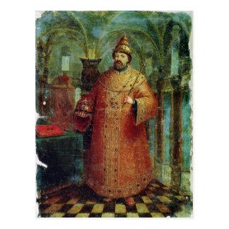 Cartão Postal Tsar Ivan Alexeevich V