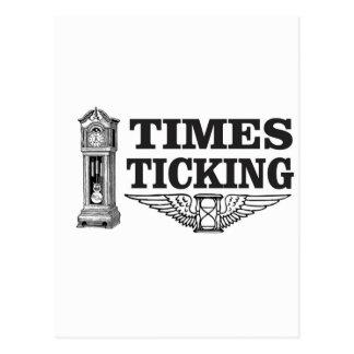 Cartão Postal ttt de tiquetaque das épocas