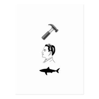 Cartão Postal Tubarão de Hammerhead