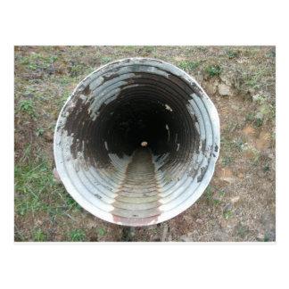 Cartão Postal Tubulação de dreno