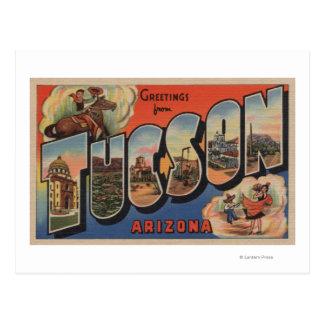 Cartão Postal Tucson, arizona - grandes cenas da letra