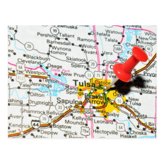 Cartão Postal Tulsa, Oklahoma