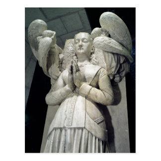Cartão Postal Túmulo de Agnes Sorel 1450-59