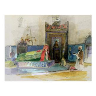 Cartão Postal Túmulo de Bayazid mim, Bursa, Turquia (w/c no