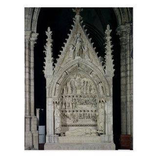 Cartão Postal Túmulo de Dagobert mim rei das franquias