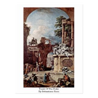 Cartão Postal Túmulo do duque Sebastiano Ricci