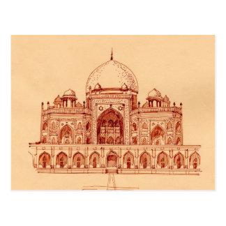 Cartão Postal Túmulo do ` s de Humayun