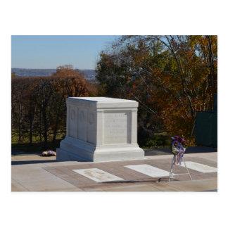Cartão Postal Túmulo do soldado desconhecido Arlington