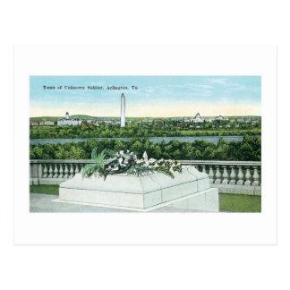 Cartão Postal Túmulo do soldado desconhecido, Arlington,