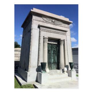 Cartão Postal Túmulo egípcio do renascimento de Nova Orleães