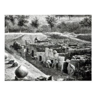 Cartão Postal Túmulos de Etruscan