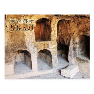 Cartão Postal Túmulos dos reis, Paphos, Chipre