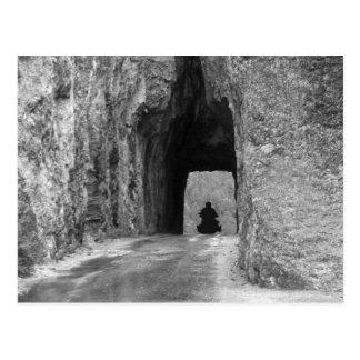 Cartão Postal Túnel da estrada das agulhas