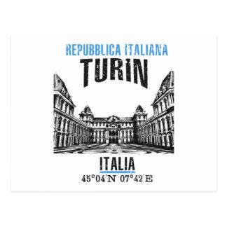 Cartão Postal Turin