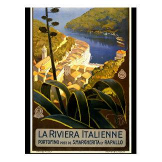 Cartão Postal Turismo retro do viagem de Italia do vintage