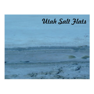 Cartão Postal Turista dos apartamentos de sal de Utá