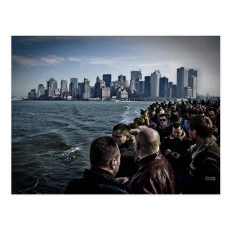 Cartão Postal Turistas de Manhattan