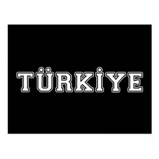 Cartão Postal Türkiye