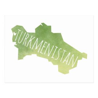 Cartão Postal Turkmenistan