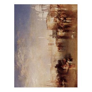 Cartão Postal Turner, Joseph Mallord William Venedig, vom Canale