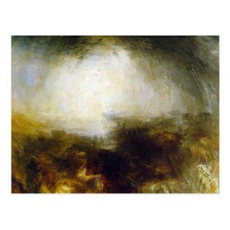 Cartão Postal Turner-Máscara de William & escuridão, nivelamento