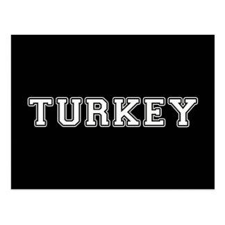 Cartão Postal Turquia
