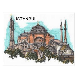 Cartão Postal Turquia Istambul Hagia Sophia (por St.K)
