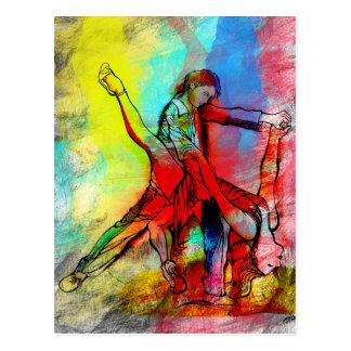 Cartão Postal Tus Labios de Rubi - tango