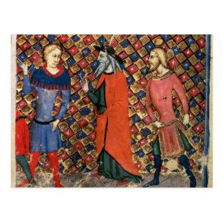 Cartão Postal Tutoria Arthur de Merlin