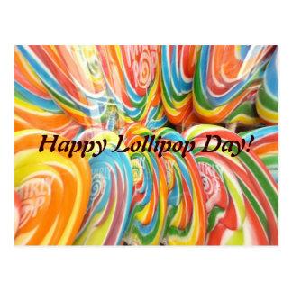 Cartão Postal TwirlyPops!