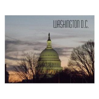 Cartão Postal U.S. C.C. de Washington da abóbada da construção