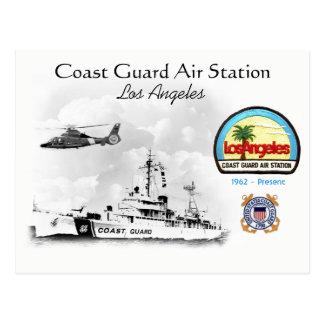 Cartão Postal U.S.C.G. Ar Los Angeles, Califórnia