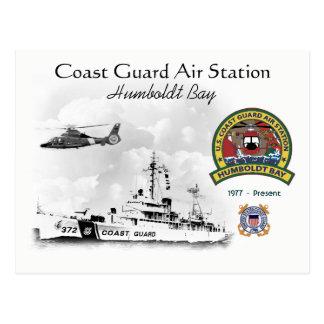 Cartão Postal U.S.C.G. Baía Califórnia de Humboldt da estação