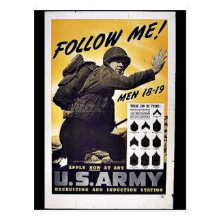 Cartão Postal U.S. Exército