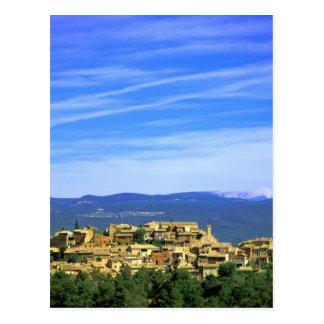 Cartão Postal UE, France, Provence, Vaucluse, Roussillon.