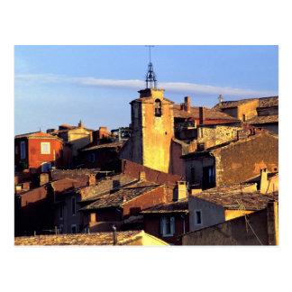 Cartão Postal UE, France, Provence, Vaucluse, Roussillon. 3