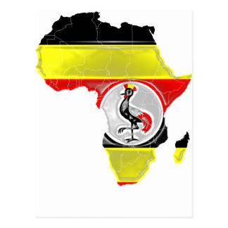 Cartão Postal Uganda