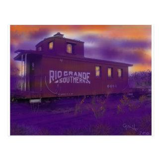 Cartão Postal Última chamada em Ridgway