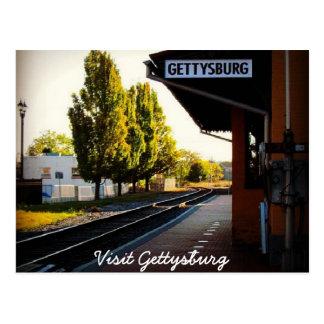 Cartão Postal Último trem a Gettysburg