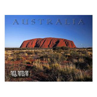 Cartão Postal Uluru (rocha) de Ayers, Austrália