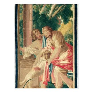 Cartão Postal Ulysses acompanhou de Telemachus
