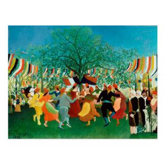 Cartão Postal Um Centennial da independência | Henri Rousseau
