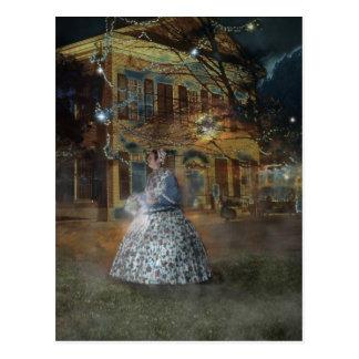 Cartão Postal Um conto assombrado em Dahlonega