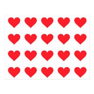 Cartão Postal Um coração do amor e da afeição