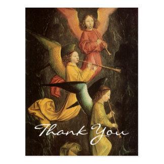 Cartão Postal Um coro de Marmion dos anjos