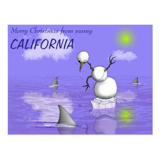 Cartão Postal Um dia mau no paraíso