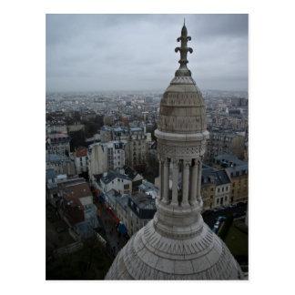 Cartão Postal Um dia molhado sobre Paris